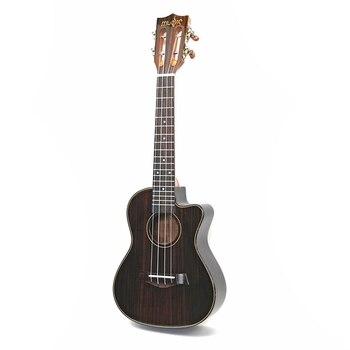 23 Inch Rosewood Ukulele Musical Instrument Guitar 4 String Hawaiian Mini Guitar Rosewood 4 Strings Guitar Instruments