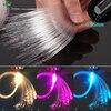 הקטן ביותר קוטר PMMA 0.25mm פלסטיק סיבים אופטי אור כבל עבור תלבושות בד חתונת קישוט-בפנסי סיבים אופטיים מתוך פנסים ותאורה באתר