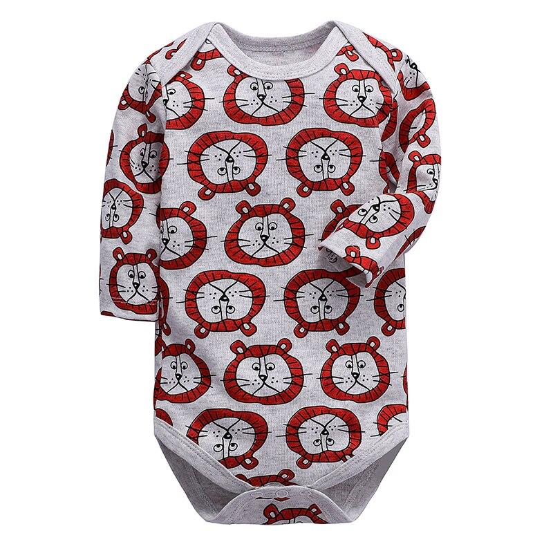 Babies Bodysuit Newborn Baby Clothing Long Sleeve 100% Cotton Print 3-24 Months Infant Clothes