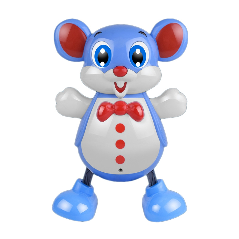 Electric Smart Dancing Cartoon Mouse Toy With Music And Light Accompany The Child's Happy Growth