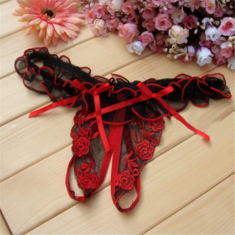String string en taille basse pour femme, sous-vêtements Sexy pour femmes, sous-vêtements érotiques, Transparent, 1 pièce
