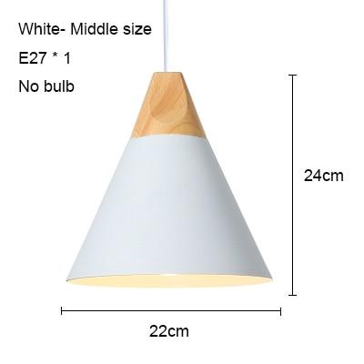 White 220mm no bulb
