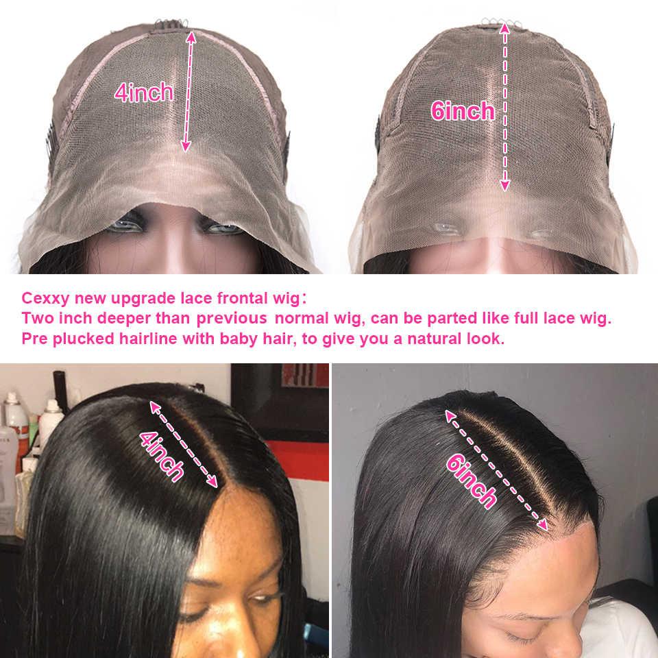 Peluca brasileña rizada del pelo humano peluca Frontal del pelo humano del cordón peluca Frontal del cordón rizado del pelo Remy para las mujeres negras peluca profunda de la onda