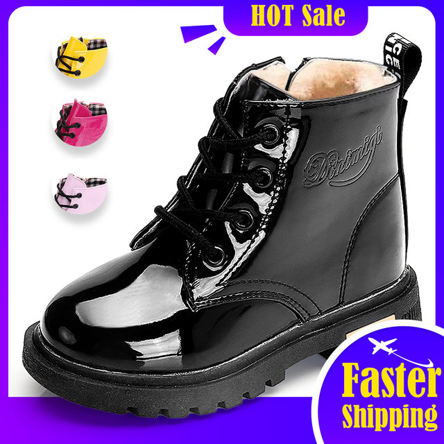 Patent Leather Boots 1