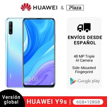 Купить Глобальная версия Huawei Y9s (P Smart Pro) 6 ГБ 128 ГБ 48MP смартфон threefold AI Cam авто-поп фронтальная камера 6,59 дюймсотовый телефон с