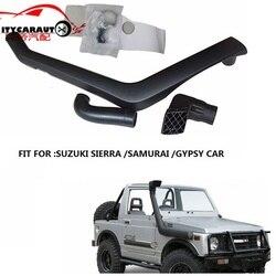 Estilismo de coche citycarauto 4*4 conjunto de snorkel de admisión de aire apto para SUZUKI SIERRA SAMURAI gitana modelo 1984-1998 1.3L gasolina camioneta Coche