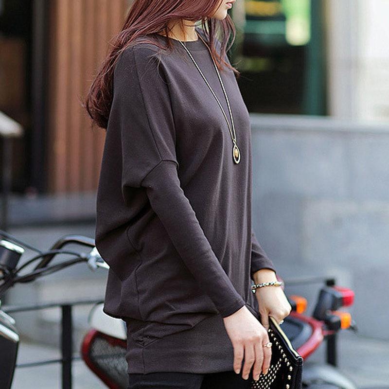 Women Winter Dress Long Sleeve Loose Dresses Plus Size Ladies Black Dresses Knitted Warm Dress Streetwear Thick Christmas Dress