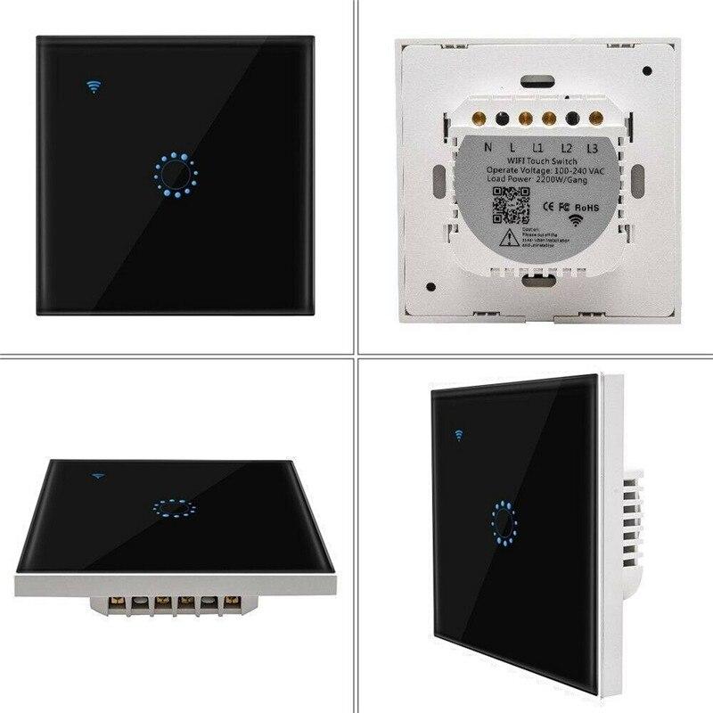 wifi inteligente interruptor de controle remoto interruptor 04