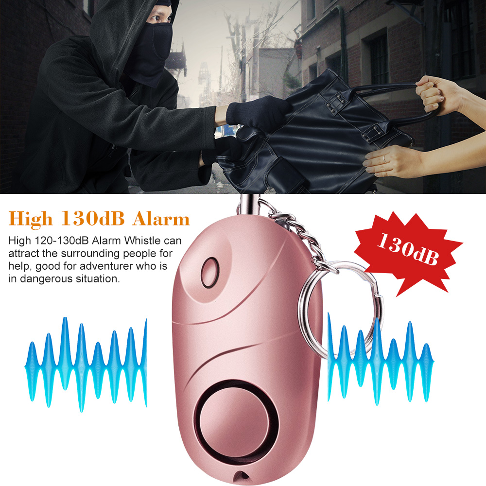 Personal Alarm Protection Women Elderly Defensa Personal Safety Self Defense Alarm Sound Anti-Attack Security Keychain Alarm