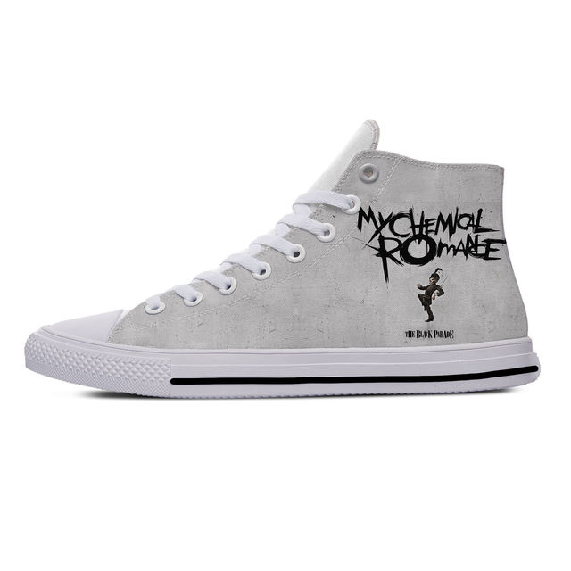 MY CHEMICAL ROMANCE HIGH TOP SHOES (9 VARIAN)