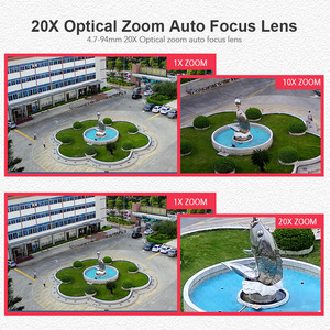 Image 2 - 1080P 5MP Wireless PTZ Speed Dome IP Camera WIFI CCTV Camera Outdoor 20X Optical Zoom Two Way Audio IR 80m Night Vision CamHi