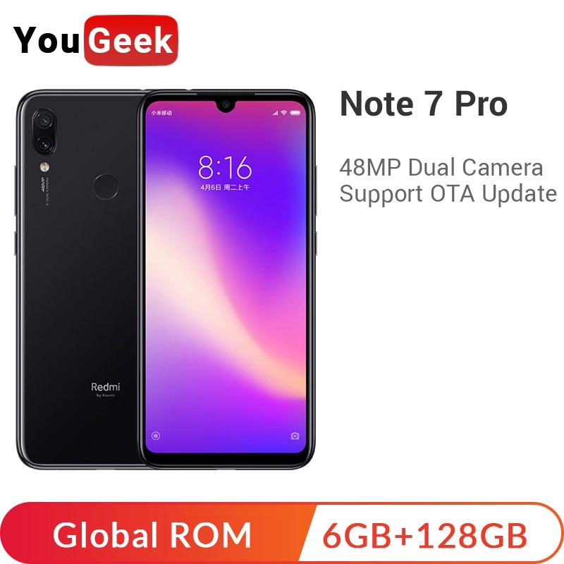 Global ROM Xiaomi Redmi Note 7 Pro 6GB 128GB Note7 Pro Smartphone Snapdragon 675 4000mAh 48MP Dual Cameras 6.3