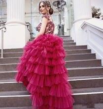 Новейшее пышное платье для выпускного вечера платья Длинные