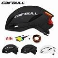 Аэродинамика велосипедные шлемы CAIRBULL скоростной гоночный шоссейный велосипед пневматический шлем спортивные велосипедные шлемы Casco Ciclismo ...
