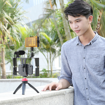 vlogging-live-broadcast-led-selfie-light-cell-phone-video-kits-with-microphone-tripod-mount-for-iphone-galaxy-huawei-lg-google