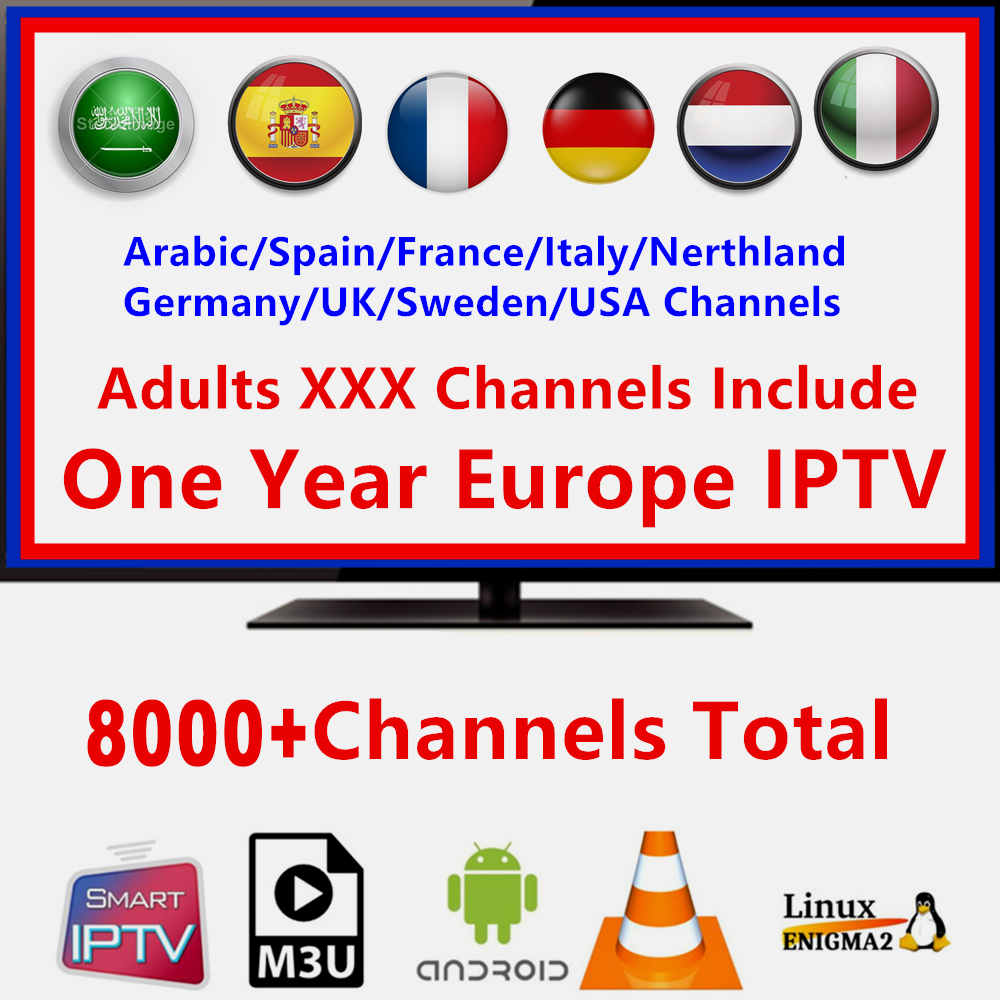 4k IPTV Fr Full HD 1 Year IPTV Subscription IPTV Arabic Belgium Dutch Portugal Spain Germany Sweden Italy For Android M3u XX