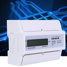 230/400V 5-100A Energy Consumption Digital Electric Power Meter 3 Phase KWh Meter With LCD Digital Wattmeter multimeter ammeter voltmeter wattmeter ac 80 260v 0 100a lcd digital display current voltage power energy meter