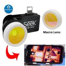 Seek Thermal Imaging Macro Lens Focus Lens for Mobile Phone Electronic Maintenance Motherboard Infrared Focusing Amplification