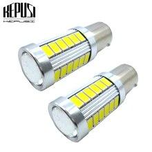 2x 1157 BA15D S25 White 12V Car Led Light 6W 5630 33SMD 7528 2357 Rear Tail Back Stop Brake Signal Lamp Bulb LED lamps