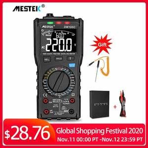 Image 1 - Analog Smart Multimeter Digital True RMS NCV Automatic multimeter Resistance Voltage Temperature Multimetro Non contact meter