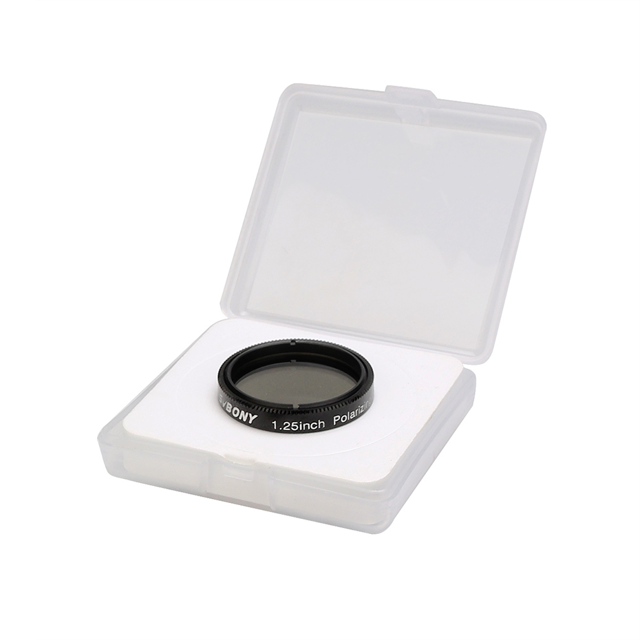 lowest price SVBONY 1 25   Polarizing Filter Linear for Telescope Astronomy  amp  Eyepiece Increasing Contrast Reduce Glare Increase Detail F9165