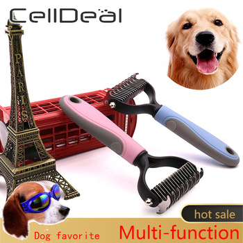 Hair Removal Comb for Dogs  & Cat Grooming Tool For matted Pet Hair  1