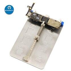 PHONEFIX uniwersalny uchwyt telefonu komórkowego PCB przyrząd uchwyt tablica logiczna stacja lutownicza do naprawy płyty głównej iphone'a
