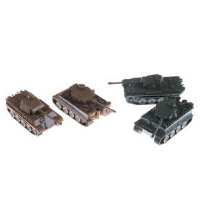 1 шт. 1: 144 масштаб Готовая модель игрушки 4D песочный стол пластиковые танки тигра во время Второй мировой войны Германия пантера танк