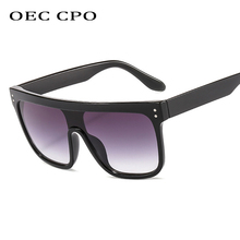 New Male Flat Top Sunglasses women Brand