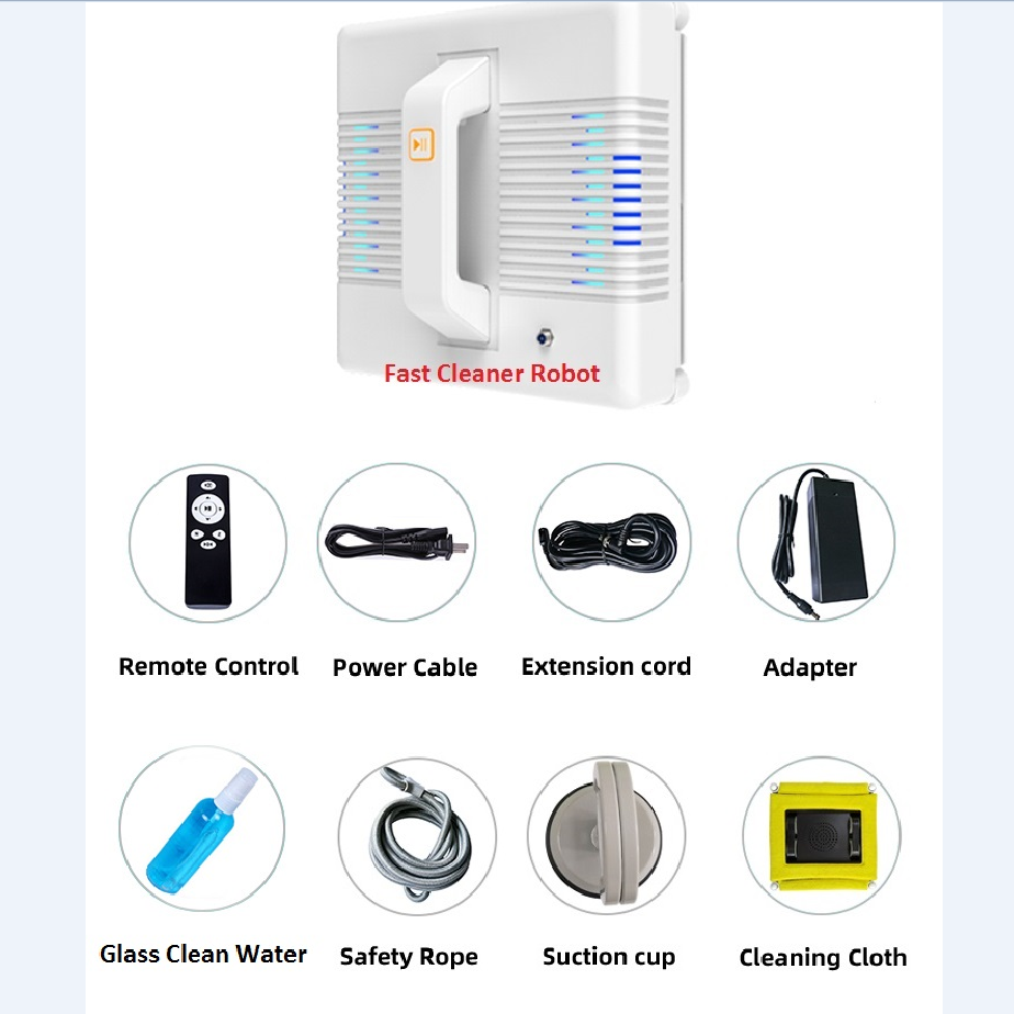 App Control Robot Window Cleaner and High-Altitude Window Cleaning Robot with Path Planning 3