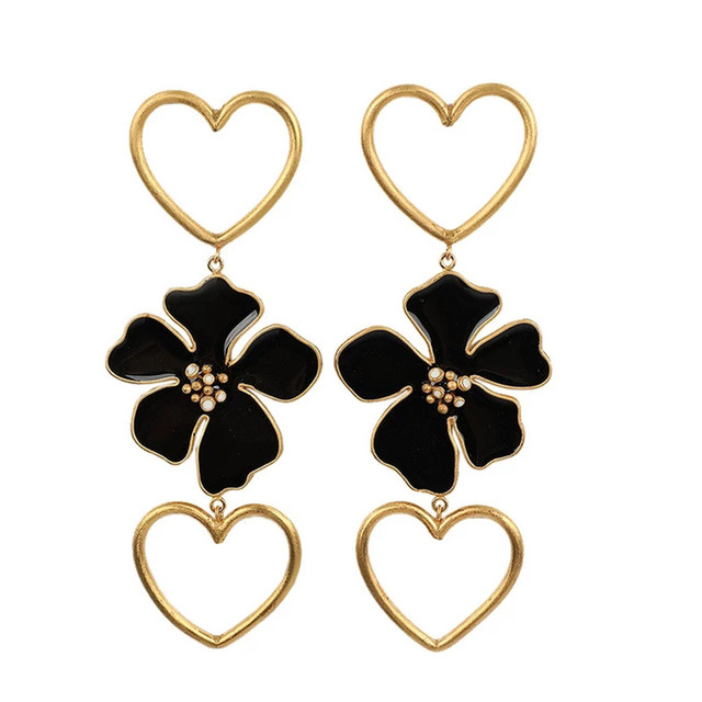 1Pair Women Exaggeration Statement Earrings
