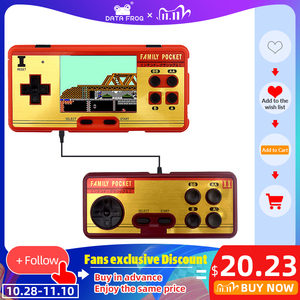 Image 1 - Data Frog Portable Handheld Game Players Built in 638 Classic Games Console 8 Bit Retro Video Game For Gift Support AV Out Put