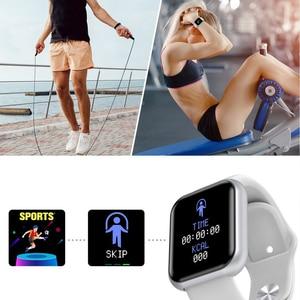 Image 4 - อัพเกรดใหม่ Y68กีฬา Smart Watch สร้อยข้อมือสมาร์ทความดันโลหิต Heart Rate Monitor สำหรับ Android IOS ผ่านมาตรฐานการจัดส่ง