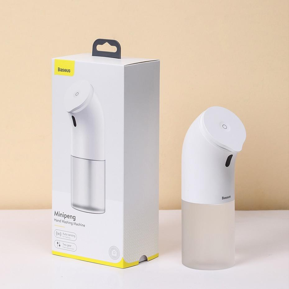 Baseus เครื่องจ่ายสบู่เหลวอัจฉริยะ เครื่องจ่ายสบู่เหลวอัตโนมัติ ซักผ้า อุปกรณ์สำหรับห้องครัว ห้องน้ำ