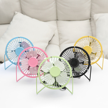 1PC USB Fan Mini Portable Desktop Cooling Desk Small Fan Office Supplies Notebook Laptop USB Gadgets Desk Sets