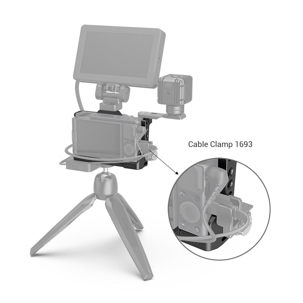 Studio Camera Cage Rig Cold Shoe Mount Handle Grip Video Protective Case fr SONY