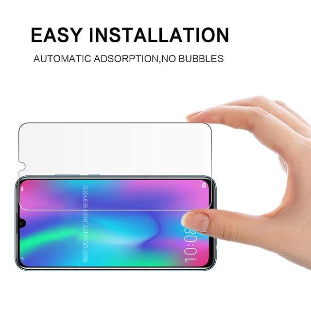 1 sztuk/2 sztuk szkło hartowane dla huawei Y6 Y5 Y9 P Smart 2019 Screen Protector na cześć 20 widok 20 7A 8X 10 9 lite szkło ochronne