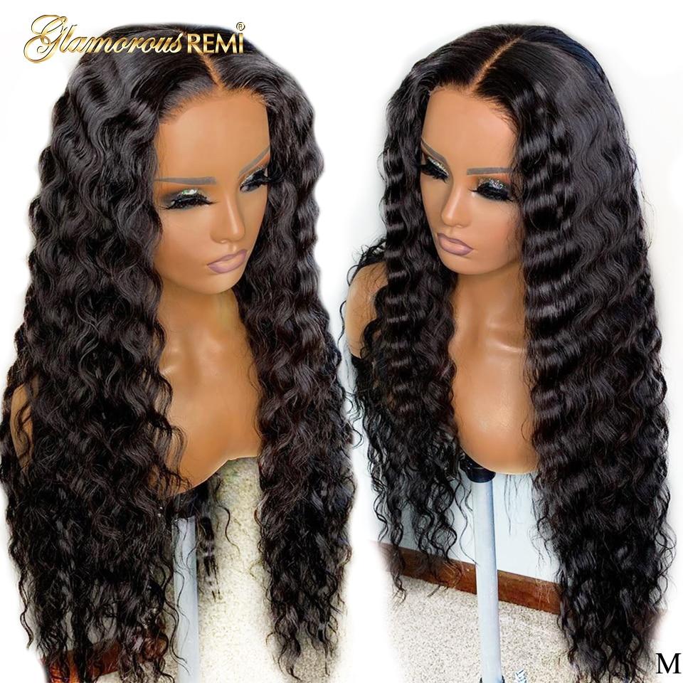 profunda brasileira perucas de cabelo humano para