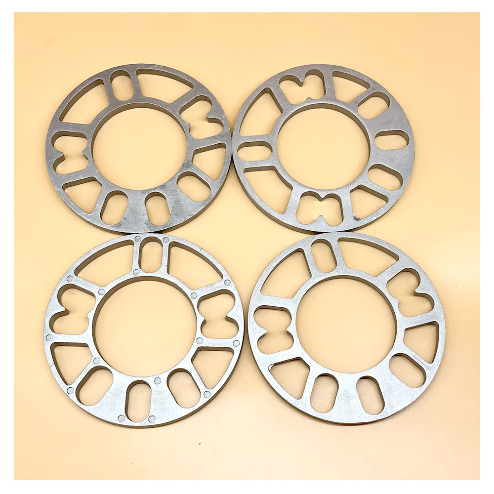 4pcs 10mm Aluminum Alloy <font><b>Wheel</b></font> <font><b>Spacers</b></font> Shims Plate For 4x100 4x114.3 5x100 5x108 <font><b>5x114.3</b></font> 5x120 <font><b>Wheel</b></font> <font><b>Spacers</b></font> image