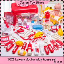 Doctor-Toys Playset Medical-Kit Role-Playing-Game Girls Hospital-Play Kids Accessorie