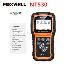 Foxwell NT530 многосистемный сканер обновленная версия NT520 Pro/NT510