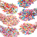 1000pcs Clay Resin Filling Butterfly Fruit Flowers Pattern Colorful Mixed Filler For DIY Epoxy Resin Jewelry Nail Art Decoration