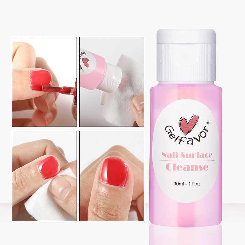 30Ml Nail Oppervlak Cleanser Uv Gel Nagellak Sticky Remover Liquid Uv Gel Acryl Vloeibare Nagellak Remover TSLM2