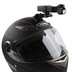 Image 5 - Capacete da motocicleta chapéu de montagem selfie vara braço titular & 3m base cola para dji osmo bolso/osmo bolso 2 cardan câmera acessórios