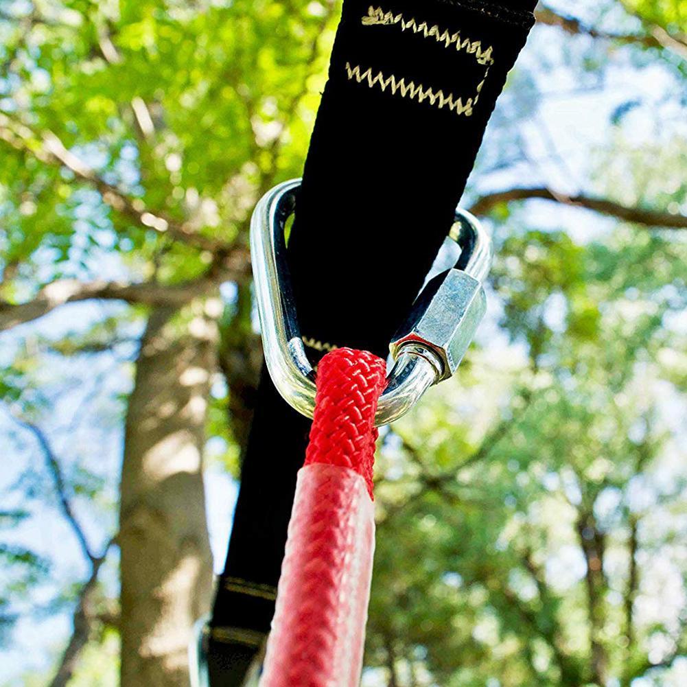 linha accessorie crianças escalada ninja corda obstáculo