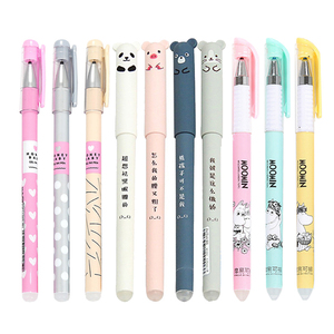 Image 2 - 25 pcs/lot Animals Erasable Pen Refills Rod Magic Erasable Gel Pen Washable Handle for School Office Writing Supplies Stationery
