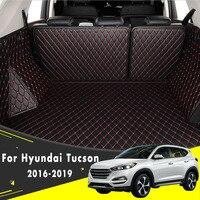 Boot Mat Rear Trunk Liner Cargo Floor Carpet Car Accessories Car Trunk Mat For Hyundai Tucson 2016 2017 2018 2019