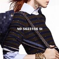 High Quality Women T Shirts Wool Knitted Tops Tees Office Ladies Tshirt 2020 luxury designer runway Womens Tshirts