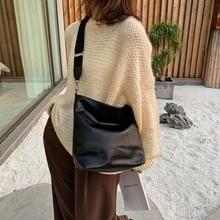 High Quality Soft Leather Large Pocket Ladies Messenger Bag Capacity Shoulder