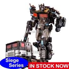 AOYI Action Figure Spielzeug G1 Siege Legierung Nemesis Prime Lkw Ruhenden Version Verformung Transformation